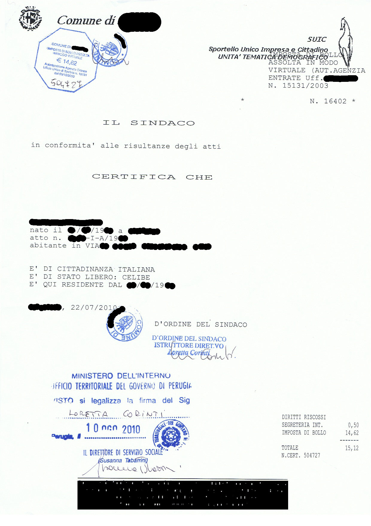 Matrimonio In Comune In Inglese : Il matrimonio misto italia marocco procedura completa