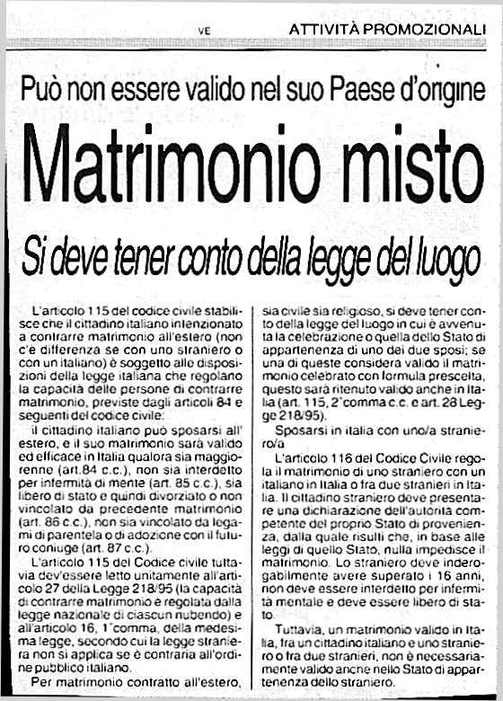 Matrimonio In Libano : Il matrimonio misto italia marocco procedura completa